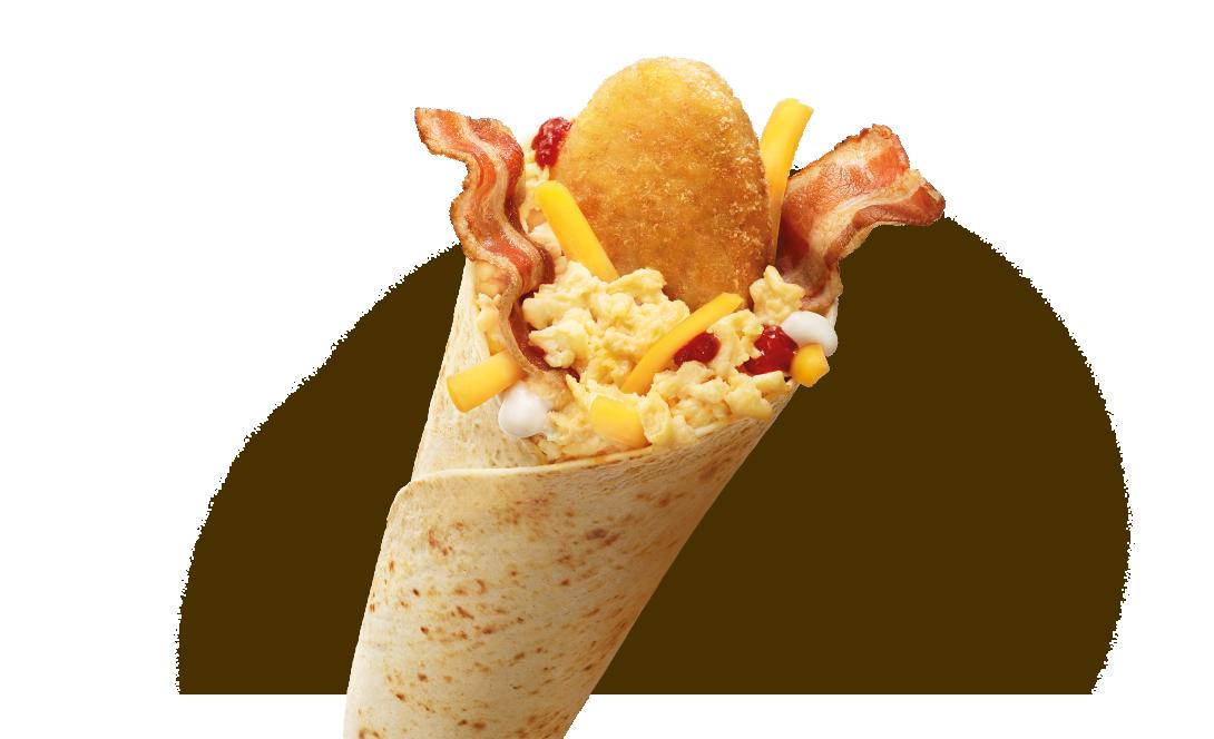 McWrap® Śniadaniowy Jajko i Bekon