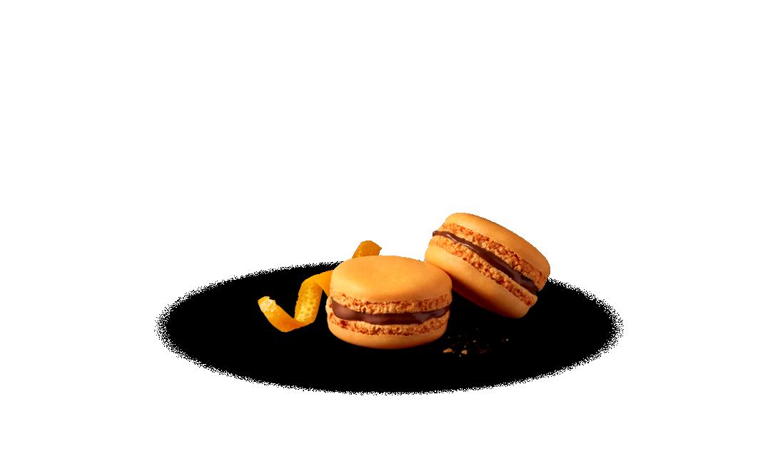 Makaronik o smaku czekoladowo-pomarańczowym McCafé®