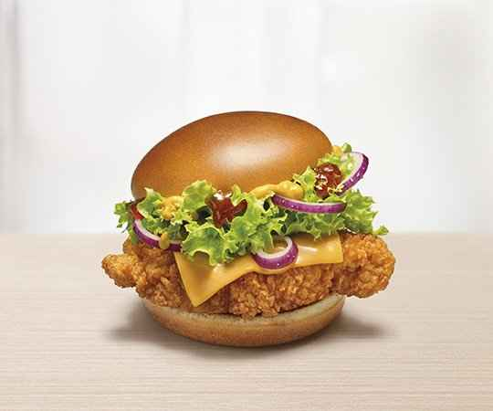 Burger Supreme Crispy Chicken