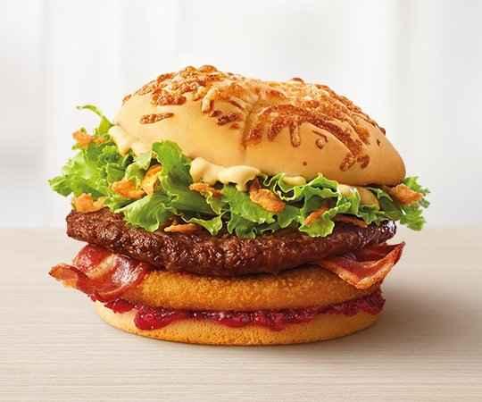 Burger Drwala z Żurawiną