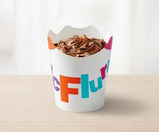 McFlurry Peanut Butter