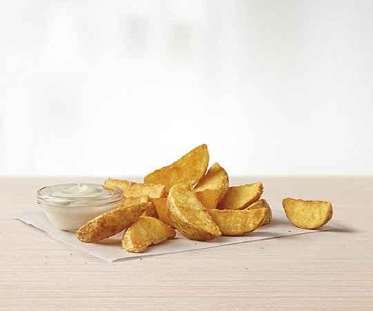 Kartofelki z sosem śmietanowym