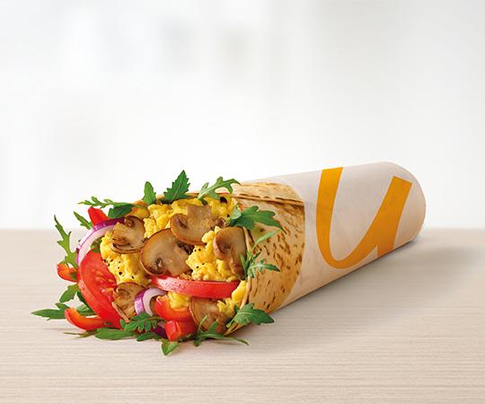 Śniadaniowy McWrap®  Jajecznica i Pieczarki