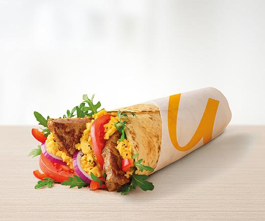 Śniadaniowy McWrap®  Jajecznica i Wieprzowina