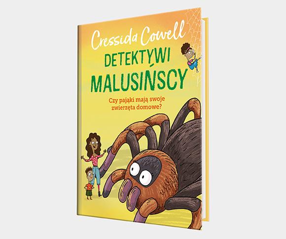 Detektywi Malusińscy 3: Czy pająki mają swoje zwierzęta domowe?