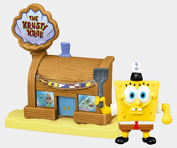 SpongeBob w restauracji Pod Tłustym Krabem